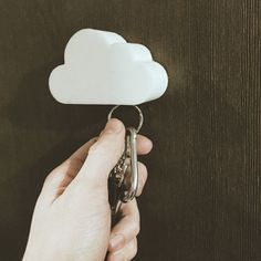 New to tomeksz on Etsy: Cloud Key Hanger (19.00 USD)
