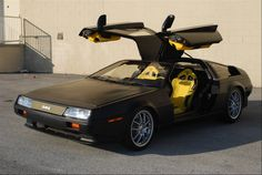 Nice looking DMC DeLorean I must say though it is kind of an abomination because a DMC DeLorean is stainless steel and should remain that way!