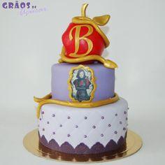 Descendentes - Grãos de Açúcar - Bolos decorados - Cake Design