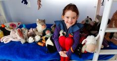 A brave face helps Lower Hutt girl Amelia Ferguson, 5, deal with chemotherapy side-effects from drugs used to treat her arthritis.