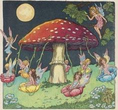 Toadstool Maypole by Mildred Entwhistle
