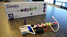 littleBits are open-source electronic blocks that snap together like Lego bricks: http://onforb.es/1NkMfDl