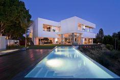 casas modernas por dentro y por fuera con alberca - Buscar con Google