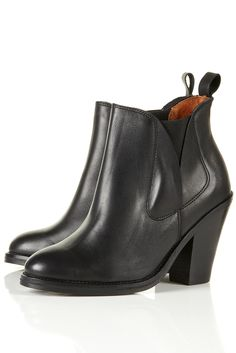 Topshop Anarchy Western Chelsea Boots $150