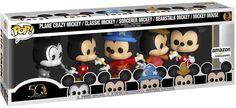 Pop Figures Disney, Funko Pop Figures, Pop Vinyl Figures, Disney Pop, Disney Gift, Walt Disney, Mickey Mouse, Mickey Mickey, Barbie