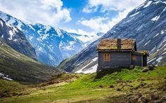 Beautiful Norway Houses - Bing images
