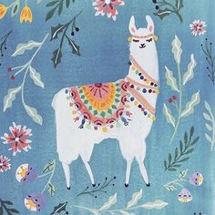 Gorgeous alpaca on insta by Llama alcapa Alpacas, Alpaca Illustration, Illustration Art, Llama Arts, Guache, Whimsical Art, Illustrations, Folk Art, Art For Kids