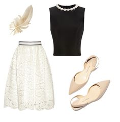 """Wedding guest"" by kesiahjoyce on Polyvore featuring Alice + Olivia, Simone Rocha and Paul Andrew"