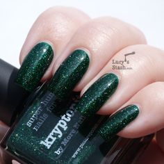 piCture pOlish Monday: Review & swatches of piCture pOlish:★ Kryptonite ★