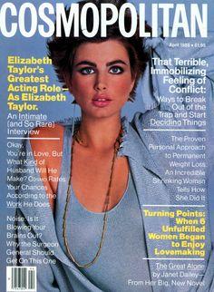 Cosmopolitan magazine, APRIL 1986 Model: Alexa Singer Photographer: Francesco Scavullo