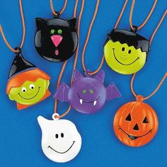 48 Halloween Character Necklaces #25/2401