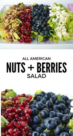 All American Nuts and Berry Salad from Modern Honey. Fresh ...