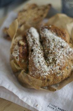 Vijgen-Gorgonzola brood