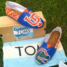 Don't like toms but would rock these out for the gators!!