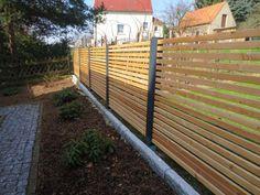 Gartenzaun Holz Und Metall Nabcd
