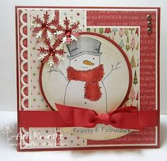 stamped christmas card ideas on pinterest | Stamp with Me: A Few for the Holidays | christmas card ideas