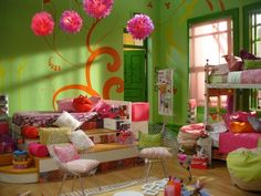Habitación de las chicas | Casi Ángeles Angel Show, Teen Girl Bedrooms, Little Girl Rooms, Home Bedroom, Furniture, Fandoms, Home Decor, Bedroom Decor, Bedrooms