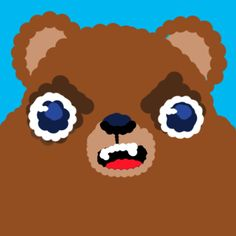 Custom Agar.io Skin Bear