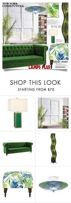 """Lampsplus 29"" by mell-2405 ❤ liked on Polyvore featuring interior, interiors, interior design, home, home decor, interior decorating, Improvements and Barclay Butera"