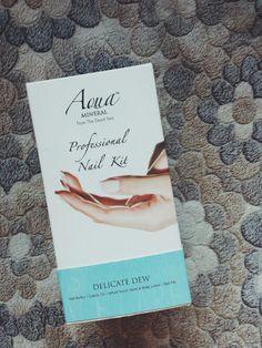 Nail Set, Minerals, Aqua, Delicate, Water, Mineral