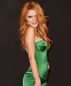 Bella Thorne sexy blonde ginger hair ~~ 21 most famous celebrity redheads to inspire your next hair color