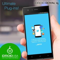 Now you can post all your ‪#‎instagrams‬ as ‪#‎Twitter‬ Photos and save your favorite Tweets to Evernote with ‪#‎IF‬ in your quietly brilliant and screamingly elegant ‪#‎RoyalV5‬. Retail Price: $169.99 http://www.idroidusa.com/english/royal-v5-black.html