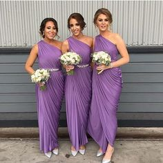 REAL RUNWAY | Meghan's #bridesmaids wearing our Exclusive Ingrid Dresses, click link in bio to shop!
