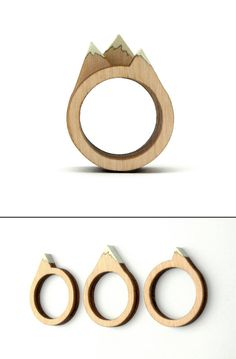 Mountain Rings by CliveRoddy on Etsy, $23.00