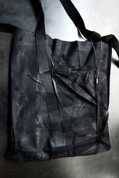 Boris Bidjan Saberi boiled wool bag.