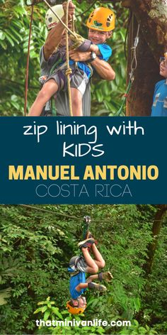 Zip lining with our kids in Manuel Antonio National Park in Costa Rica was the highlight of our trip. Even if you're afraid of heights like I am, you won't want to miss this! Check out this post for all you need to know about zip lining in Costa Rica! #costarica #manuelantonio #ziplining #familytravel Road Trip With Kids, Travel With Kids, Family Travel, Road Trip Games, Road Trips, Packing Tips For Travel, Travel Essentials, Affordable Family Vacations, Best Travel Credit Cards