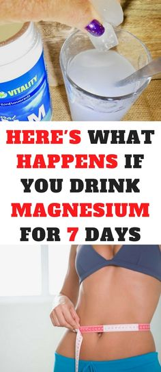 I Drank Magnesium for 7 Days, Here's Why it was the Best Decision Ever