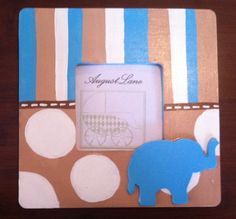 Baby Elephant Picture Frame