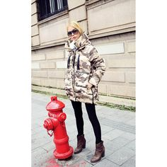 2014 New Winter Women Camouflage Parka Down Jacket Coat Long Hooded Warm Outwear Fashion Thick Overcoat Military Design-in Down & Parkas from Women's Clothing & Accessories on Aliexpress.com | Alibaba Group US 55