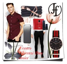 """7#Franco Florenzi&my choice"" by fatimka-becirovic ❤ liked on Polyvore featuring ASOS, Dior Homme, Tavik Swimwear, Giorgio Armani, Monza and francoflorenzi"