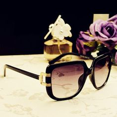 Fashion Retro 2013 elegant  women's Large Sunglasses Women Freeshipping $4.99