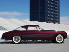 1953 Cadillac Series 62 Coupe by Ghia (formerly owned by Rita Hayworth)