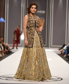 Nida Azwer bridal collection 2016-2017 was entitled as ''Alankara Collection'. This collection focuses the bridal collection at Fashion Pakistan Week 2016 with sophisticated and elegant designs.