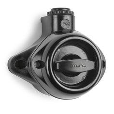 interrupteur étanche Aufputz Drehschalter IP44 Bakelit Thomas Hoof Produktgesellschaft mbH & Co. KG