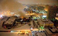 Moscou: une bibliothèque unique ravagée par un incendie | fr.sputniknews.com