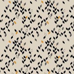 Twist Mustard -Studio Saartje - online winkel met designer-, retro- en vintage stoffen en exclusieve patronen
