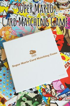 Last year Nintendo's loyalty program Club Nintendo closed, but before that we got an exclusive Super Mario Card Matching Game. Matching Games, Super Mario, Nintendo, Glitter, Club, Cards, Maps, Playing Cards, Sequins