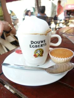 Douwe Egberts--Aroma Rood Coffee is THE BEST! I normally take cream and sugar...this is so smooth and pleasant tasting that I can drink it black.