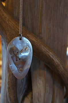 Vintage Recycled Stainless Steel Spoon Necklace by MissBuffys, $35.00