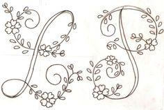 Letras para bordar gratis - Imagui                              …