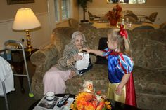 Teaching to Give: Go Reverse Trick-or-Treating at a Nursing Home