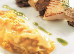 Cucinare che Passione: Risotto con zucca e lardo, capesante, tartufo nero e Grana Padano