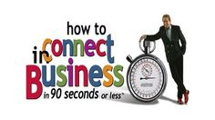 """How to Connect in Business in 90 Seconds or Less - Nicholas Boothman 2003 -- """"Defines the 3 key steps for creating an instant connection with people: choosing an attractive attitude, sending the right signals, & getting them talking & keeping them talking."""""""