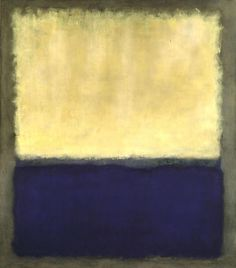 Mark Rothko, Light, Eart and Blue, 1954, Oil on canvas, 191,5 x 170,2 cm, Private collection