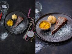 Schoko und Mang Nutella, Panna Cotta, Ethnic Recipes, Food, Kuchen, Dulce De Leche, Essen, Meals, Yemek