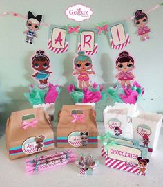 lol surprise doll Birthday Party Ideas | Photo 2 of 7